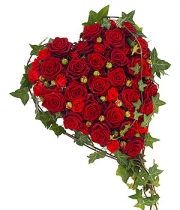 Rose based heart